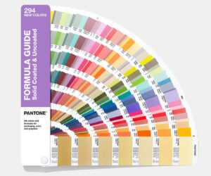 Pantone's famous swatch guide